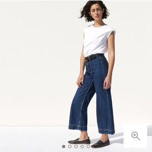 The Edition 02 Wide Leg Crop Jean
